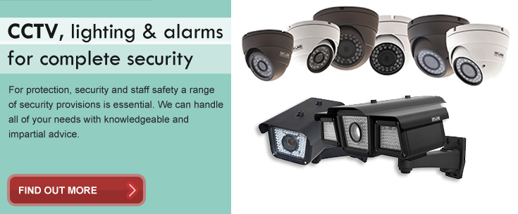 Alarms, CCTV and security devices