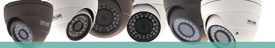 CCTV, security lighting and alarms